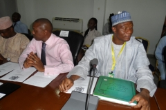 Photo taken at the first convening of the Kwara State Agricultural Modernization Master Plan implementation.